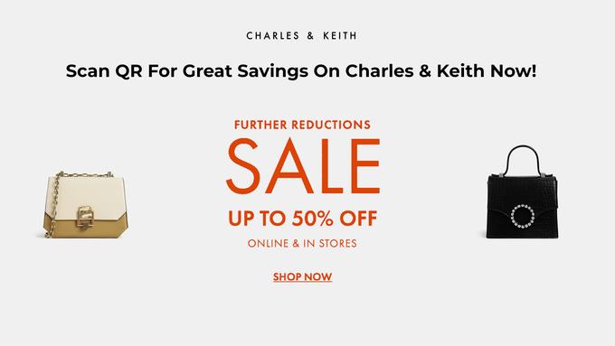 Charles & Keith Sale
