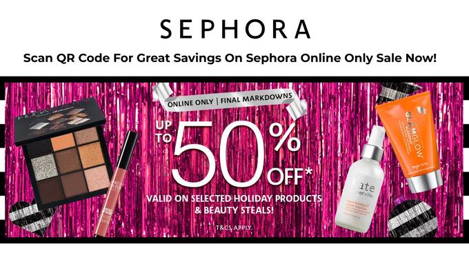 Sephora Final Markdown Sale
