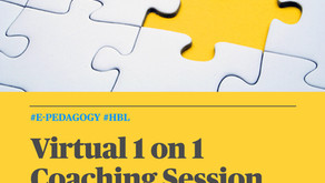 Virtual 1:1 Coaching Session for Educators