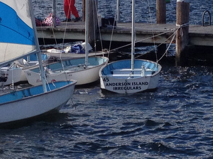 Anderson Island Irregulars' Sponsored Dyer Dhow
