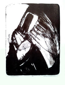 """Consecration, Stone drawn Lithograph, edition #8 of #14, 17 ½"""" X 13"""", n.d."""