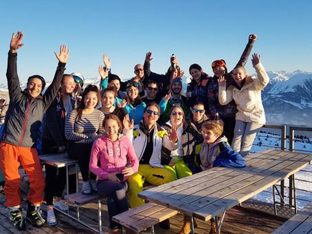 TVOK Skiweekend in Laax 2018
