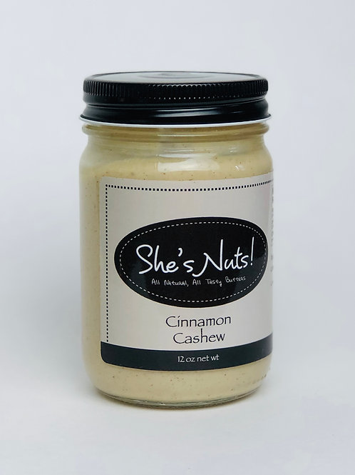 Cinnamon Cashew - 12 oz