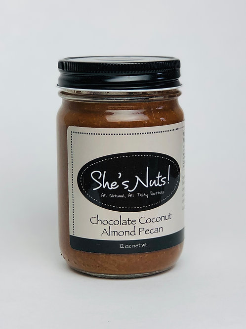 Chocolate Coconut Almond Pecan - 12 oz