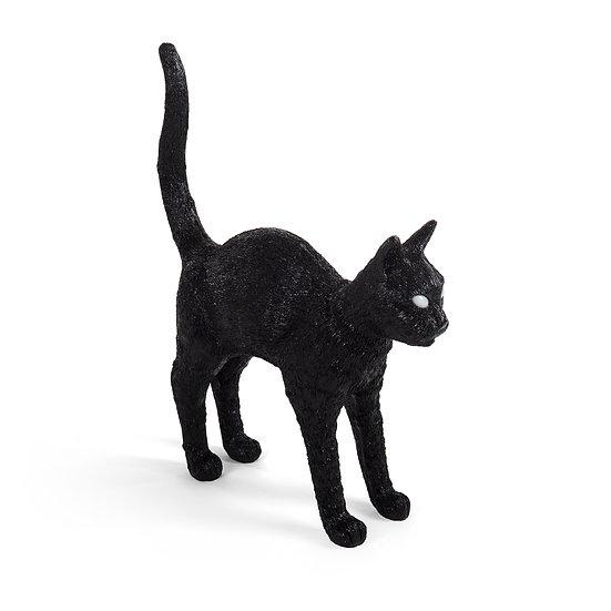 """Lampada """" Jobby the cat black """" by Studio Job per Seletti"""