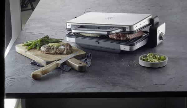 Griglia bistecchiera a contatto 2in1 Wmf