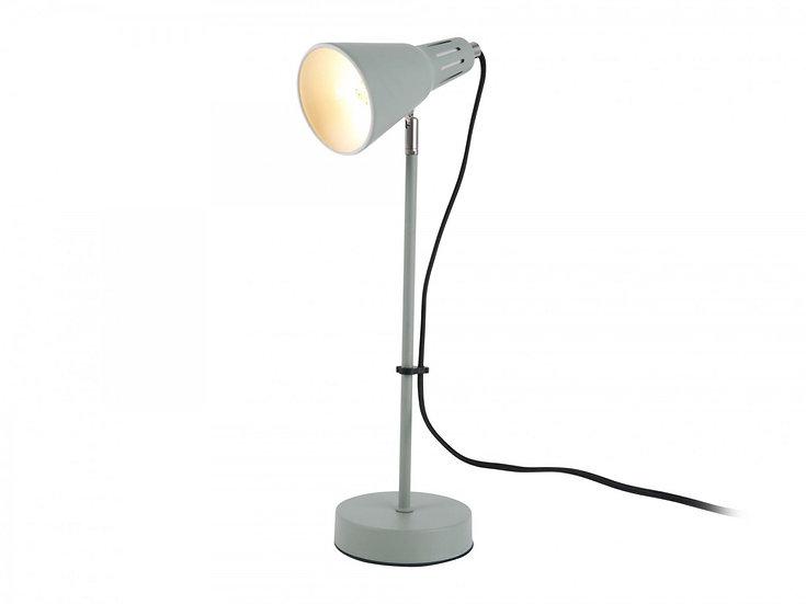 Lampada da tavolo Mini Cono in ferro  colore giada grigia