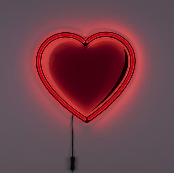 """Lampada  """" Heart Led Lamp """" Seletti"""