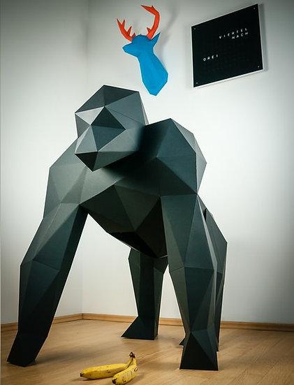 Gorilla XXL in carta Paper Trophy