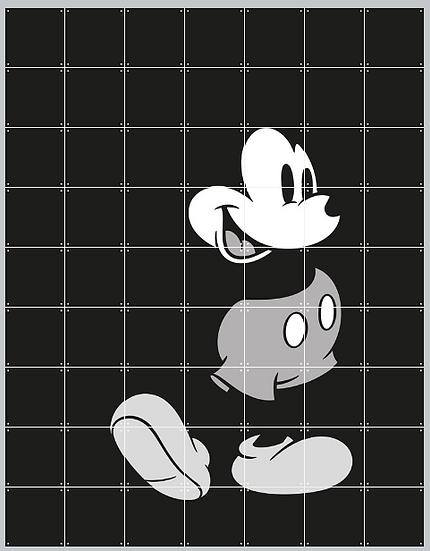 """Decorazione da muro """"Mickey Mouse 140x160 IXXI per Disney"""