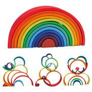 Rainbow Wooden Blocks
