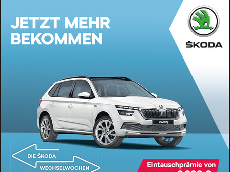 Jetzt von Ihrem alten Fahrzeug zu einem neuen SKODA wechseln.