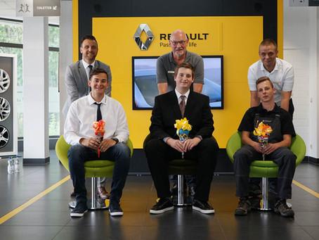 CCH Wernigerode begrüßt drei neue Auszubildende
