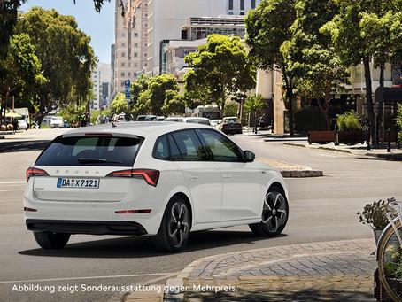 Neue ŠKODA DRIVE 125 Modelle. SCALA DRIVE 125 jetzt mit bis zu 6.000€* Kundenvorteil