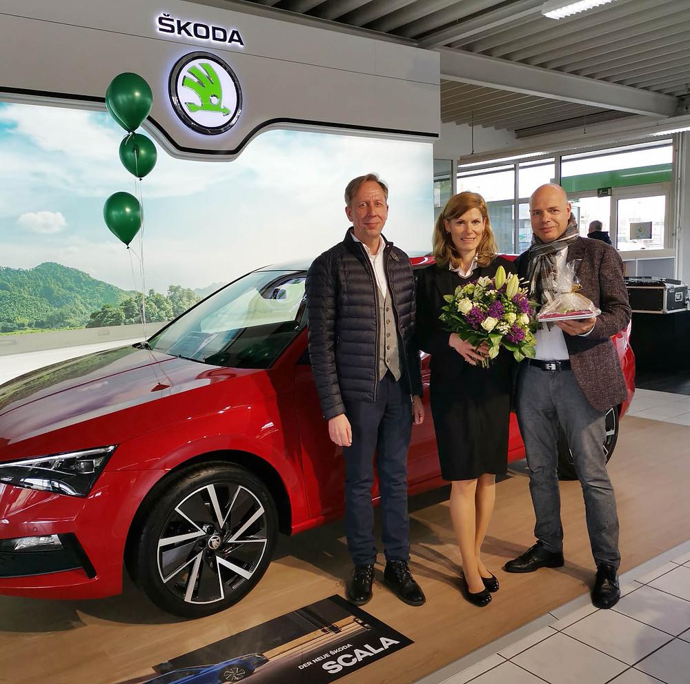 CCH-Geschäftsführer René Werian, Geschäftsstellenleiterin Jeannine Bösche und CCH-Geschäftsführer Frank Müller.