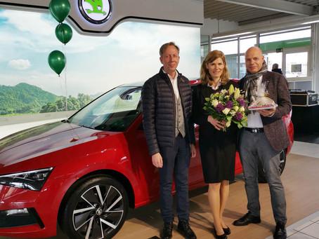 Jeannine Bösche feierte 25-jähriges Jubiläum beim CCH
