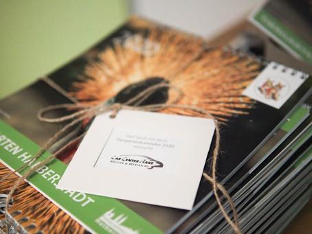 CCH Harsleben beteiligt sich an Tiergarten-Kalender-Aktion