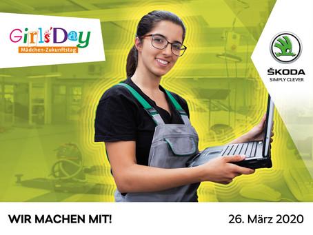 """Jetzt bewerben! Am 26. März ist """"Girls' / Boys' Day"""" im CCH Autohaus Harsleben"""