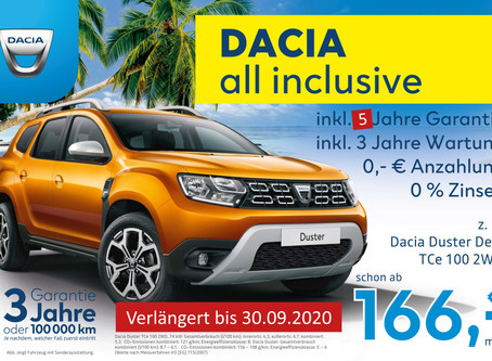 DACIA all inclusive