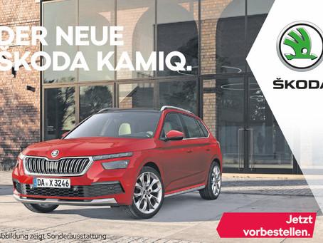 SKODA KAMIQ feiert Bestellstart: neues City-SUV ab 17.950 Euro erhältlich