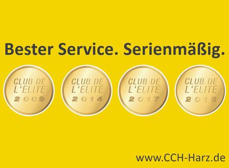 CCH Müller & Werian KG erneut in den Club de L'Elite aufgenommen