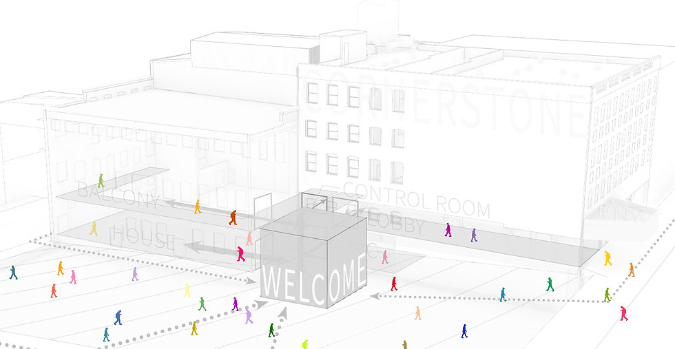 Website Home page graphic - rainbow people - darker welcome box.jpg