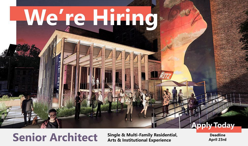 We're Hiring - Senior Arch Graphic LARGE