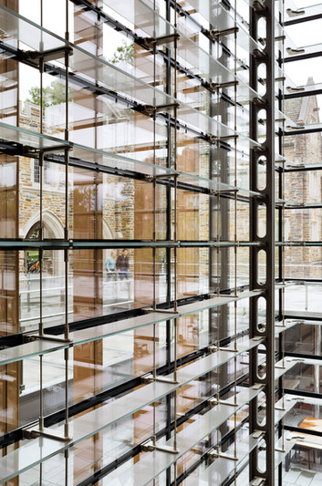Brodhead Center for Campus Life glazed curtain wall w/ Grimshaw Architects