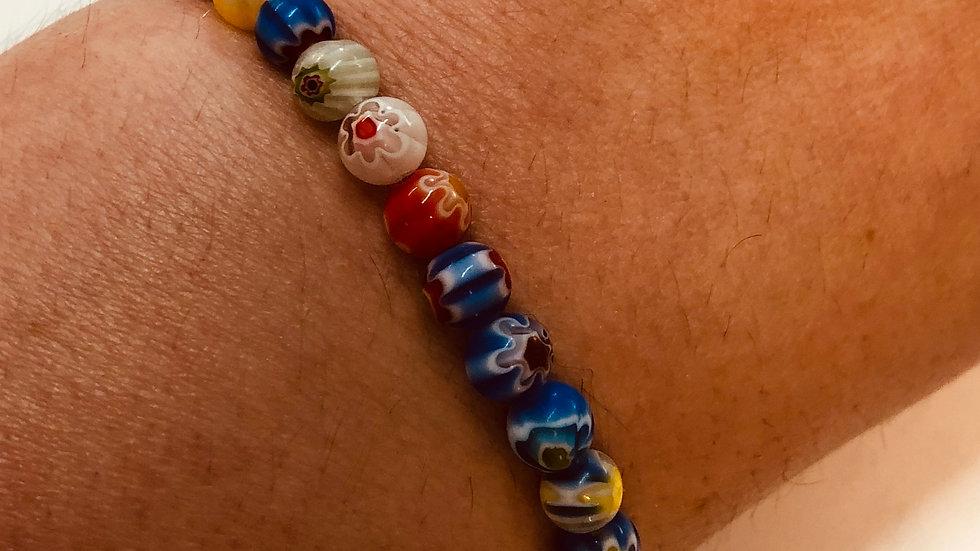 Glass Bead Friendship Bracelet