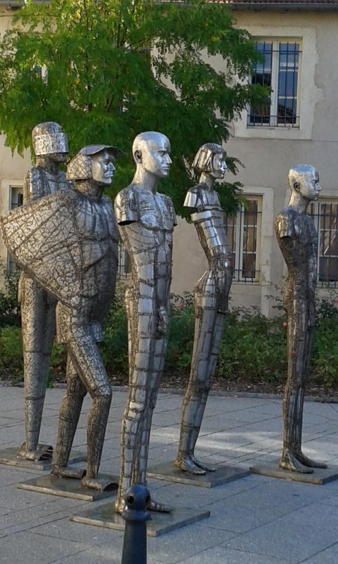 Militin, créateur de sculptures