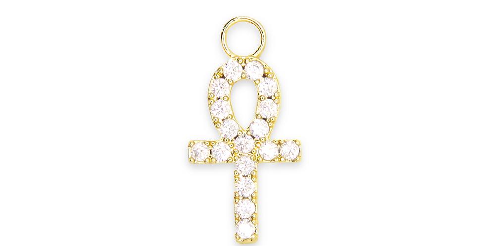 Lueur - Croix égyptienne d'or