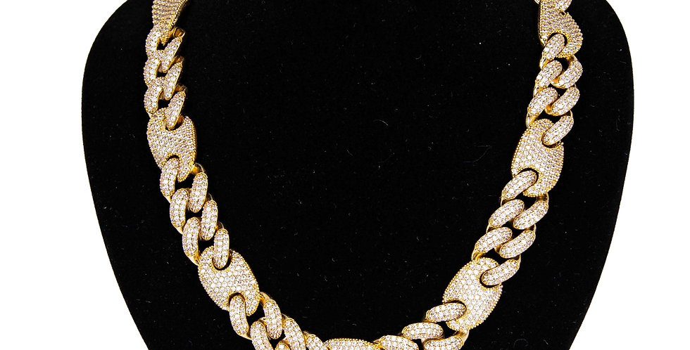 GUCCI LINK 16MM GOLD
