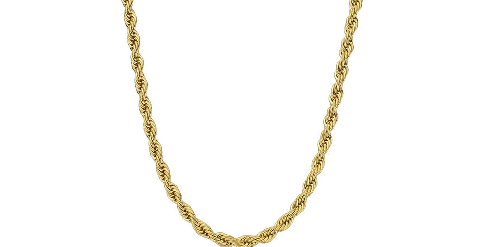 ENSEMBLE ROPE CHAIN GOLD 4M