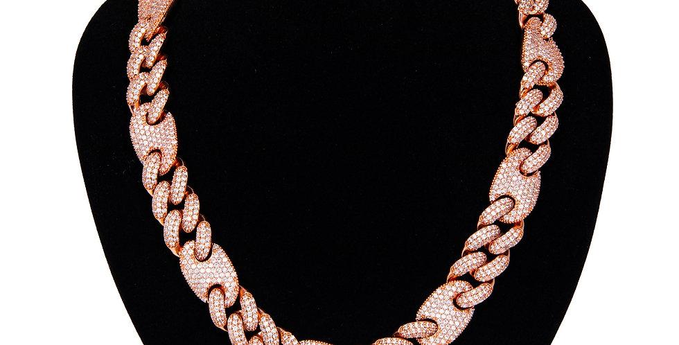 GUCCI LINK 16MM ROSE GOLD