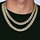 Thumbnail: FULL ICED CUBAN LINK 12MM GOLD