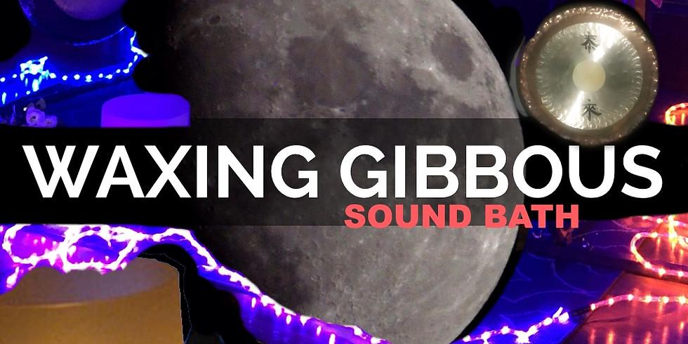 Waxing Gibbous Moon Sound Bath &  EFT