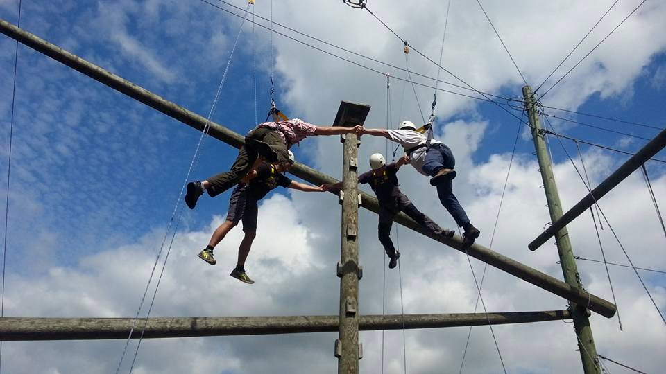 High ropes training