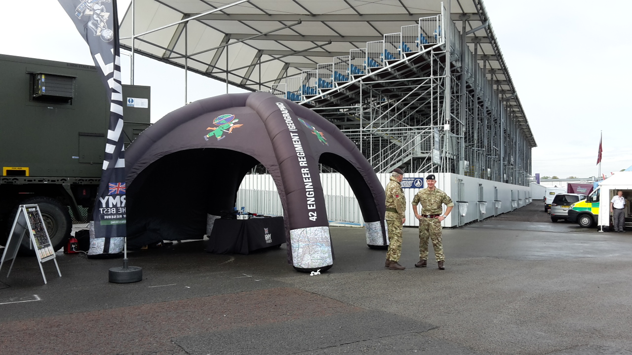 Silverstone recruiting event