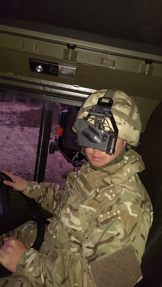 Driving with Night Vision Goggles