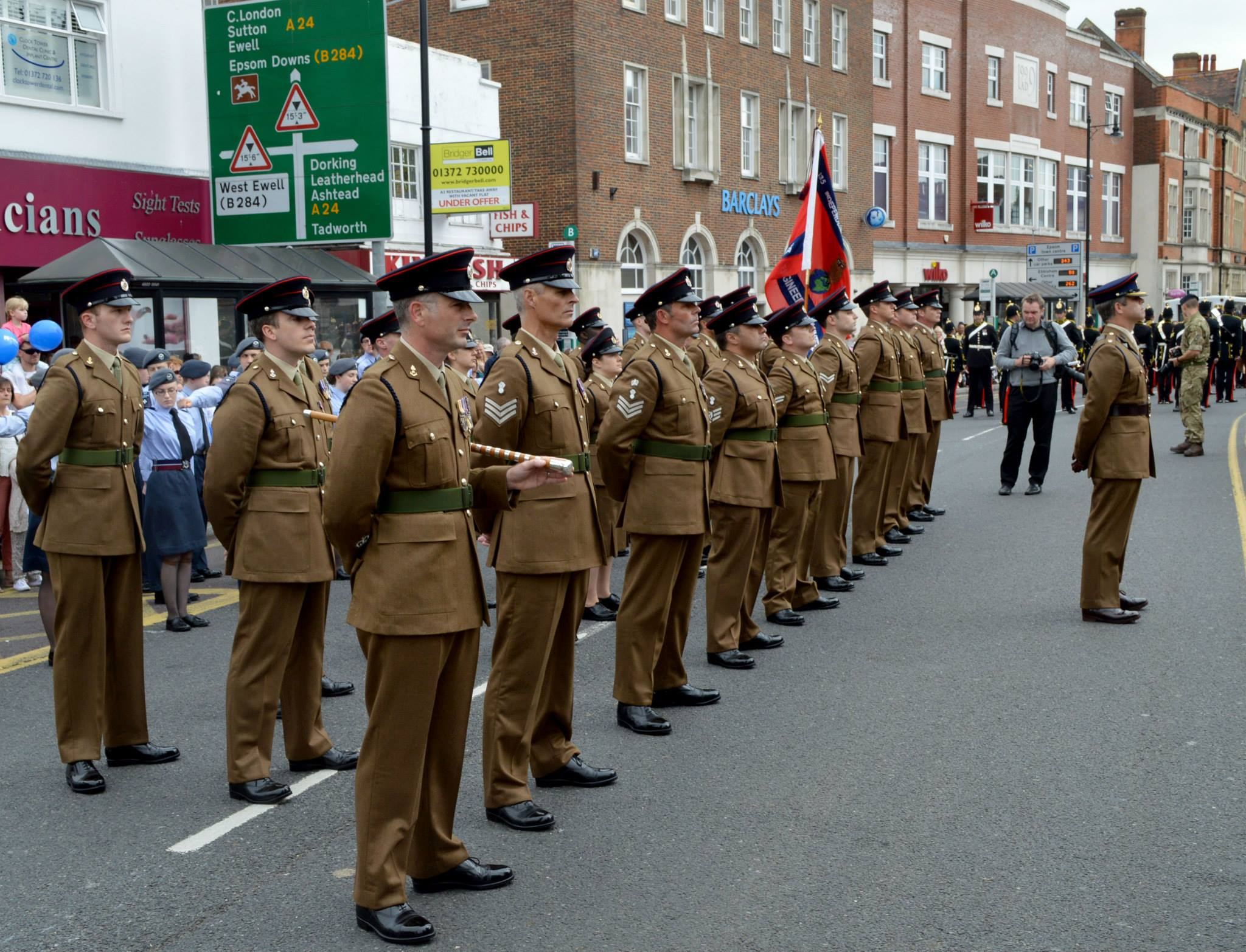 Freedom of Epsom & Ewell parade