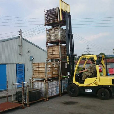 Fork lift driver training