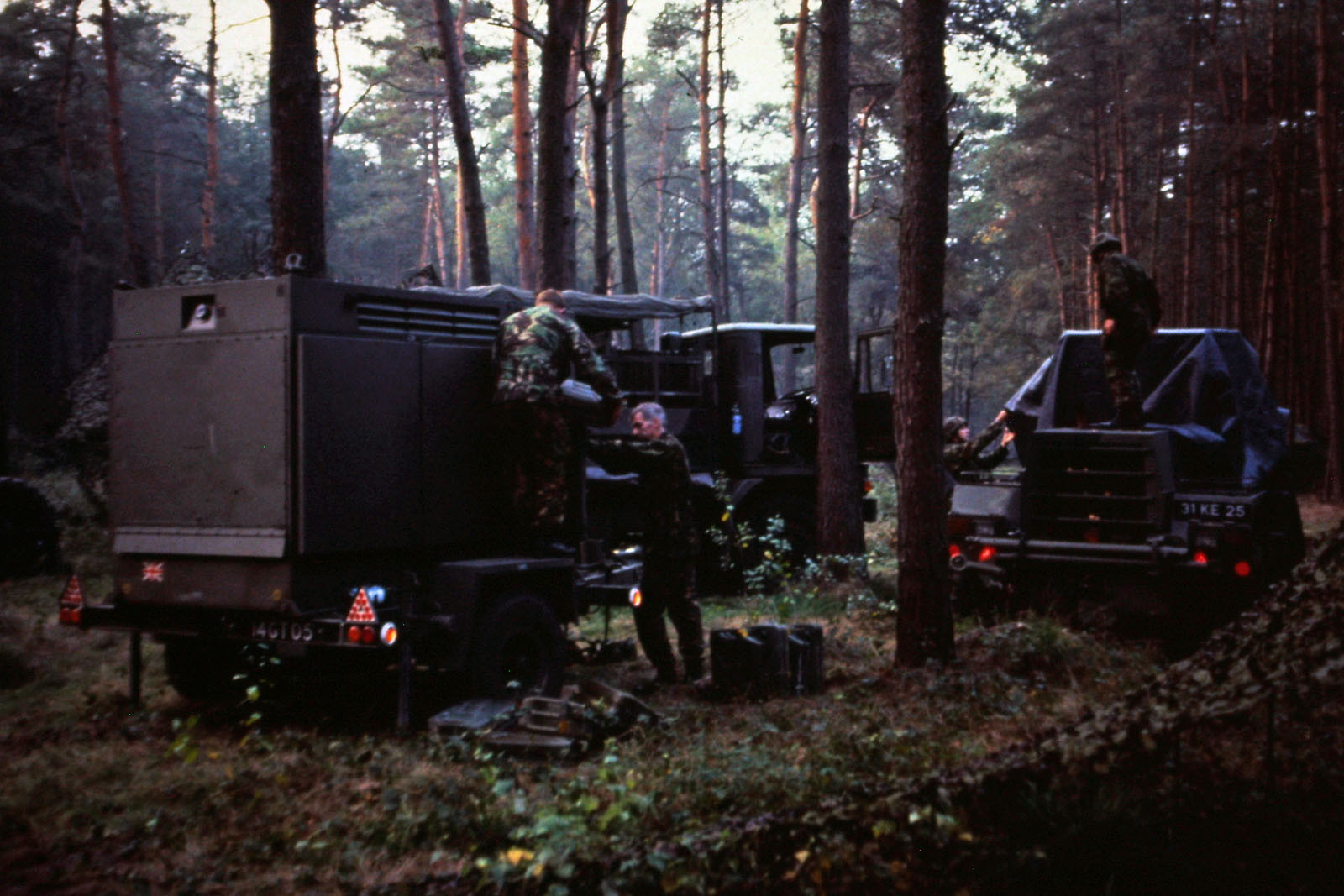 On exercise in Germany