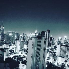 Vue aérienne Bangkok