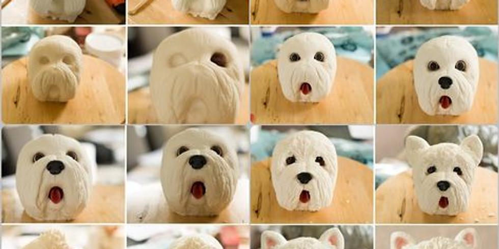 May Virtual Create-a-long:  Dog's Bust