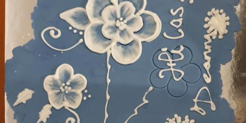 Brush Embroidery and other Royal Icing Techniques