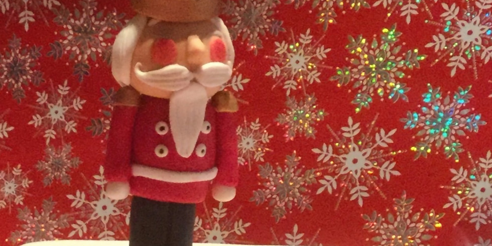 August - Online Create-a-long:  Christmas Nutcracker Topper