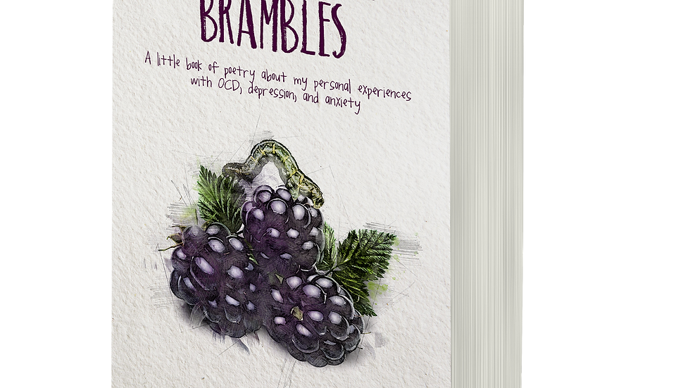 "Unsigned paperback ""Living in the Brambles"""
