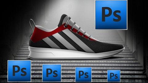 Adobe Photoshop course Shoe rendering fr