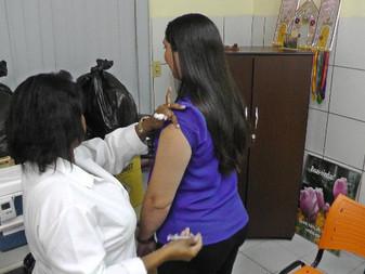 Campanha de vacinação contra gripe (Colégio D'Lins)