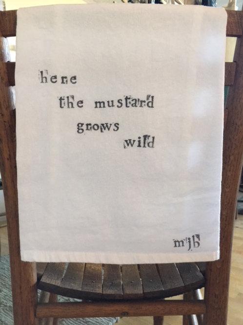 Wild Mustard Towel